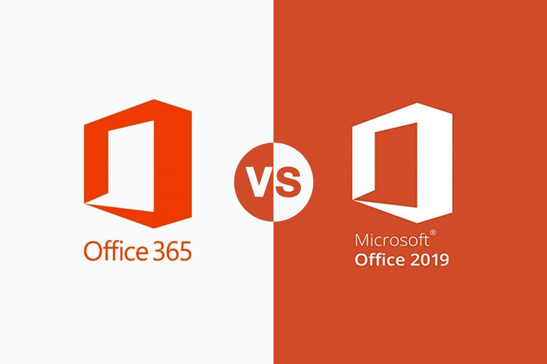 تفاوت office365 و office 2019